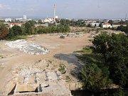 Stavba Šantovky a okolí