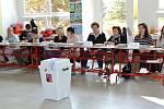 Předčasné parlamentní volby na ZŠ Melantrichova v Prostějově