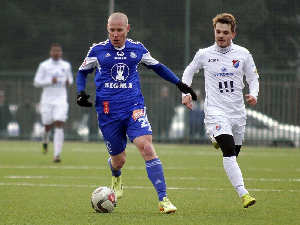 Tipsportliga: Sigma (v modrém) proti Baníku