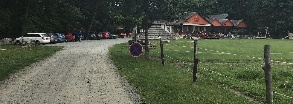 Lovecká chata u Horky nad Moravou