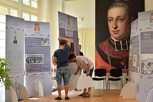 Výstava Rudolf Jan v Oranžerii ve Smetanových sadech v Olomouci