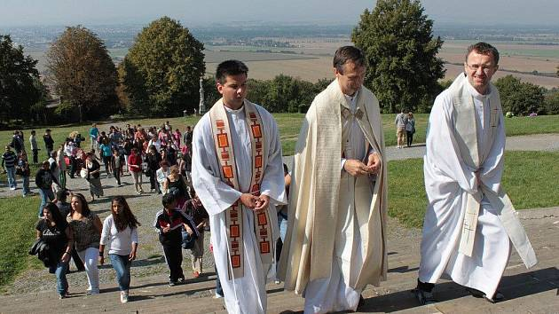Romská pouť na Svatý Kopeček