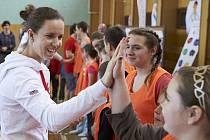 Iveta Vacenovská na Olympijském víceboji