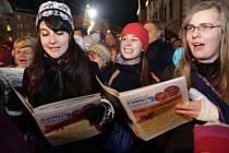 Olomouc. Česko zpívá koledy 10.12.2014