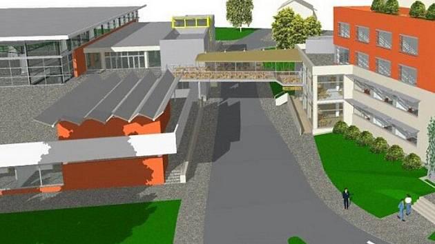 Vizualizace návrhu přestavby Výstaviště Flora a jeho okolí