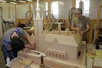 Hmatový model olomoucké radnice