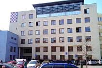 Budova ve Vejdovského ulici, kde funguje evidence řidičů a motorových vozidel