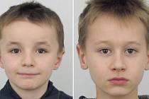 Pohřešovaní bratři Vojtěch (vlevo) a František