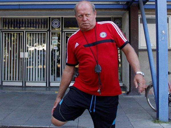 Trenér Leoš Kalvoda. Sigma zahájila přípravu na Fotbalovou národní ligu