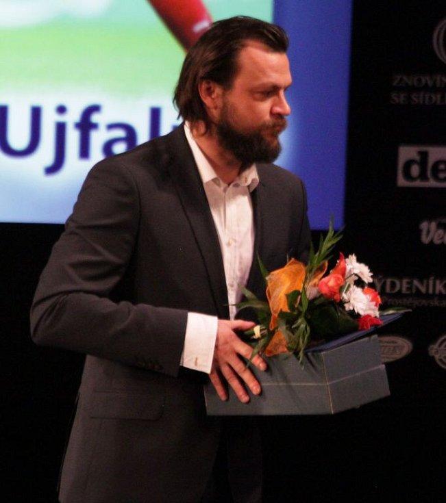 Tomáš Ujfaluši na vyhlášení Sportovce Olomouckého kraje za rok 2014 v Městském divadle v Prostějově