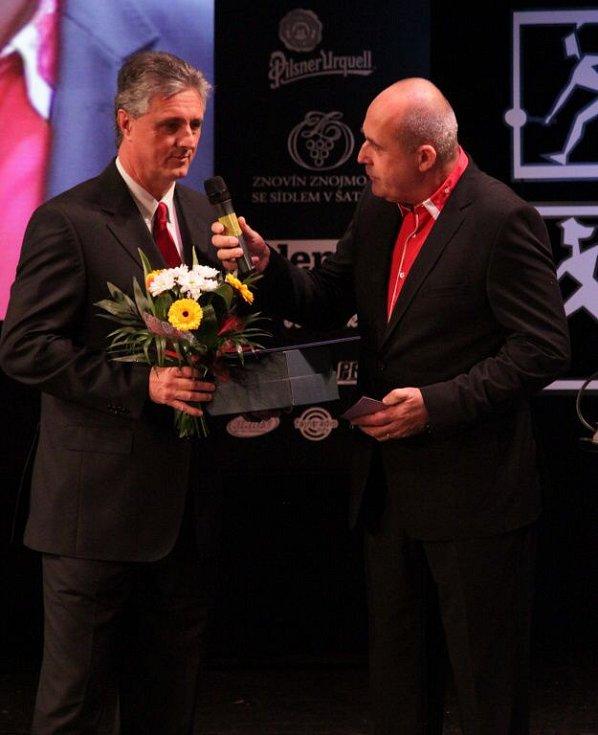 Tenisový trenér Jaroslav Navrátil. Vyhlášení Sportovce Olomouckého kraje za rok 2014 v Městském divadle v Prostějově