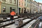 Rekonstrukce ulice 8. května v Olomouci, 20. října 2020