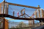 3D bludiště a zábavný park na Šibeníku v Mostě