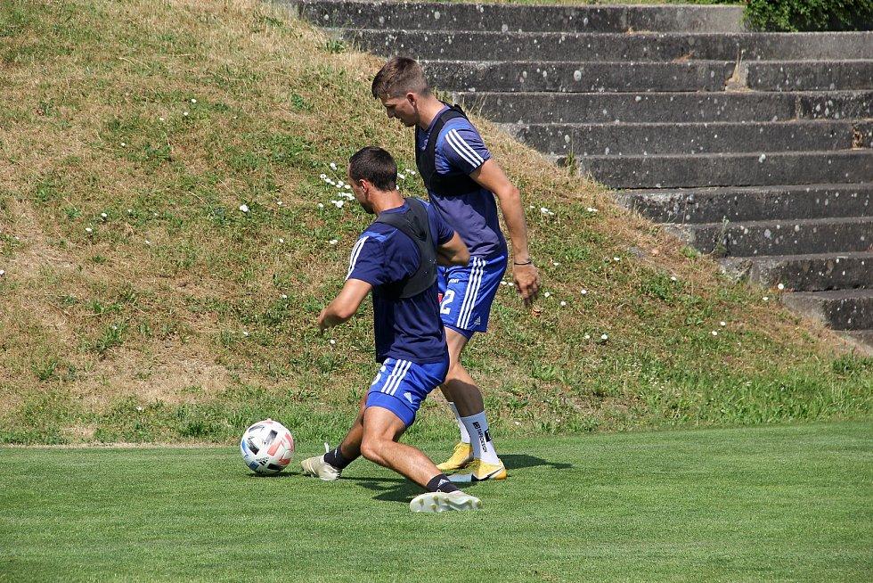 Fotbalová Sigma Olomouc zahájila přípravu na novou sezonu.Jan Sedlák, Jan Štěrba