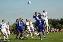 Přípravné utkání mezi Sigmou Olomouc a Třincem skončilo ve Slatinicích 2:2.