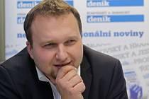 Marian Jurečka při on-line rozhovoru se čtenáři Deníku