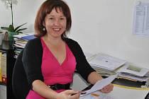 Monika Mackovíková z Moravské vysoké školy Olomouc