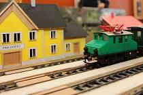 Modelová železnice stavěná studenty Střední školy technické a obchodní v Olomouci