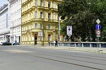 Most přes Mlýnský potok v Olomouci