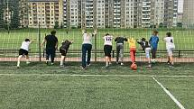 Liga férového fotbalu v Olomouci