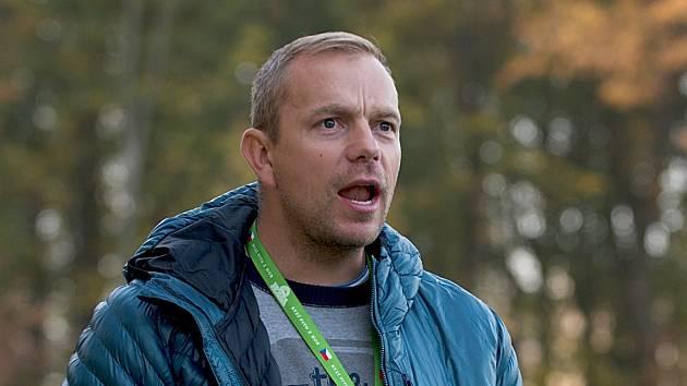 Trenér HFK Olomouc Jaromír Lukášek