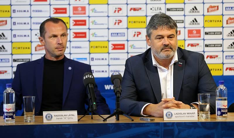 Květen 2019 - Radoslav Látal se ujímá role hlavního kouče olomoucké Sigmy
