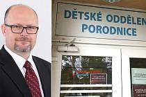 Marek Vaca, primář Gynekologicko-porodnického oddělení Nemocnice AGEL Šternberk.
