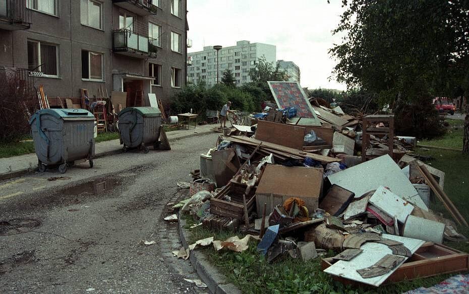 Olomouc, Lazce, 14. července 1997