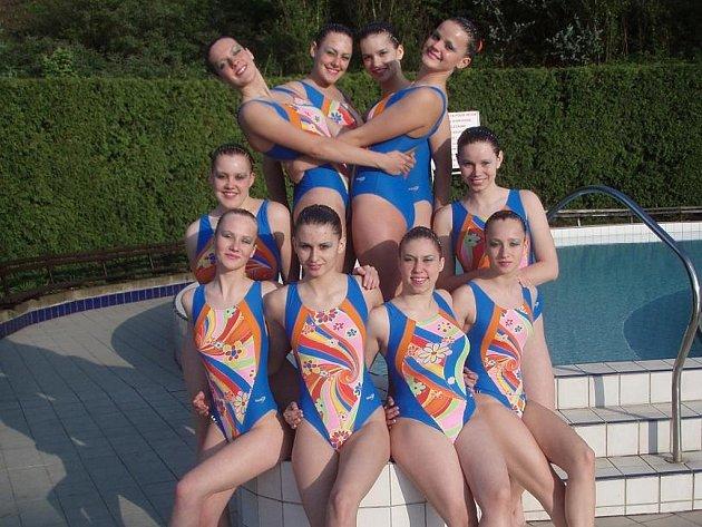 Olomoucké akvabely se na mistrovství republiky prosadily na stupně vítězů.