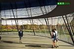Vizualizace vyhlídky centra Spritualia v areálu BEA centra