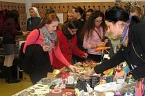 Dobročinný bleší trh na teologické fakultě v Olomouci