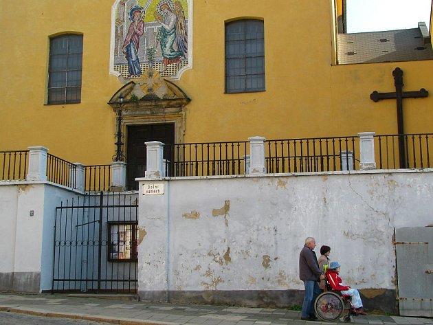 Kapucínský kostel na Dolním náměstí