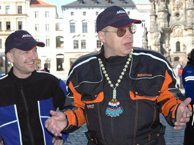 Libor Martínek a Marek Mička (vpravo)