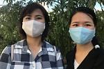 Olomoučanky Linh Duongová (vpravo) a Minh Nguyêt Ngô.