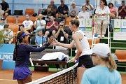 Na kurtech Omega centra sportu a zdraví probíhá první kolo turnaje ITS Cup