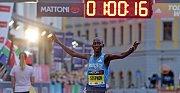 Olomoucký půlmaraton 2018: vítěz Stephen Kiprop z Keni