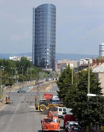 Výstavba nové tramvajové trati vOlomouci