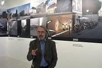 Výstava Architektura je atentátem na dobrý vkus! v olomouckém Muzeu umění. Ředitel muzea Pavel Zatloukal