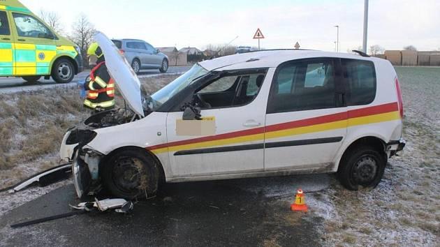 Nehoda roomsteru ve Štěpánově