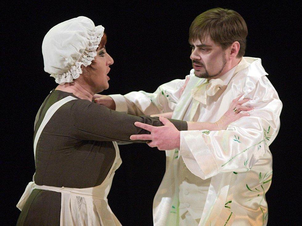 Opera Traviata v Moravském divadle