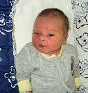 Samuel Hradil, Nedvězí narozen 24. března, míra 54 cm, váha 3930 g
