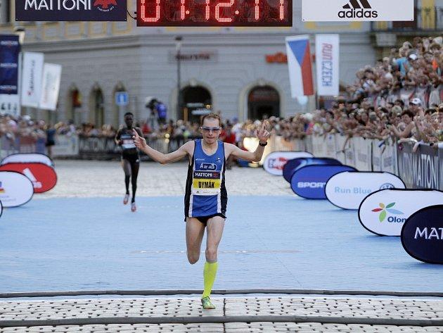 VOlomouci proběhl ve velkém horku další ročník půlmaratonu. Pavel Dymák