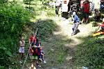 Akce dobrovolných hasičů v Domašově nad Bystřicí