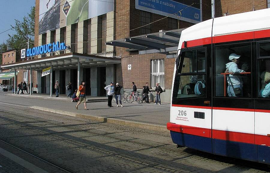 Hlavní nádraží v Olomouci