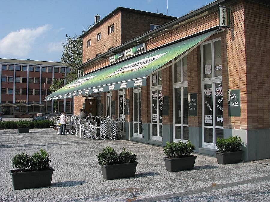 Hlavní nádraží v Olomouci - restaurace