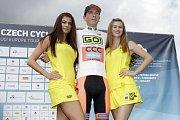 V Dolanech u Olomouce finišovala závěrečná čtvrtá etapa závodu Czech Cycling TourMichal Schlegel, nejlepší jezdec do 23 let