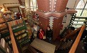 Červený kostel v Olomouci - původně německý evangelický chrám, naposledy sklad knih