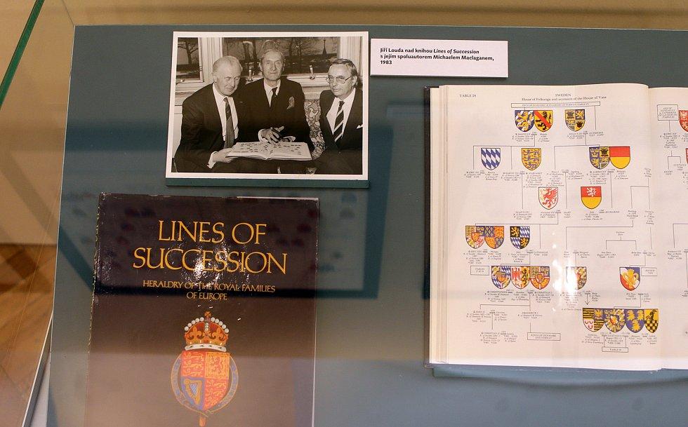 Výstava k 100. výročí narození předního českého heraldika Jiřího Loudy v olomouckém Vlastivědném muzeu