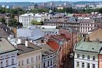 Pohled na Olomouc z radniční věže. Ilustrační foto