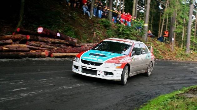 Rallye Jeseníky - Jakeš